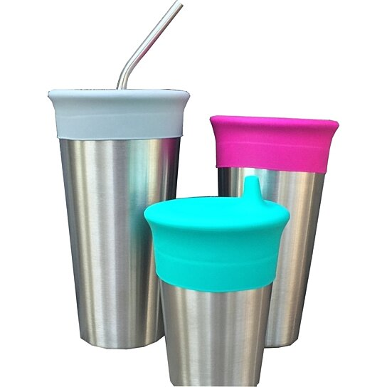 Buy Universal Silicone Cup Lids By Stainless Cups On OpenSky