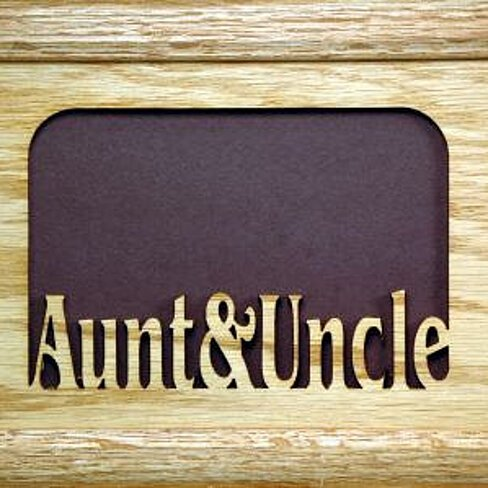 buy aunt and uncle picture frame 5x7 by stans gifts on
