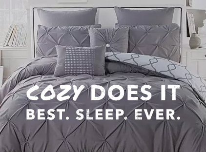 Cozy Does It. Best. Sleep. Ever.