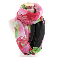 Tropical Breeze infinity scarf