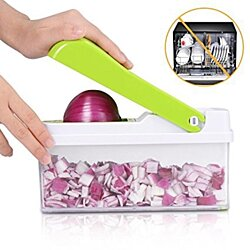 STYLEDOME Vegetable Chopper, Kitchen Veggie Fruit Dicer Slicer, Food Cutter