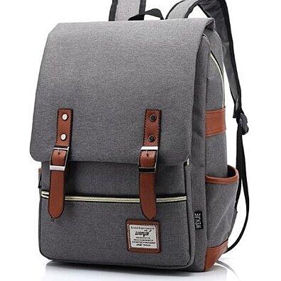 8de78eca08 Vintage Casual Canvas Backpack Large Capacity Backpack