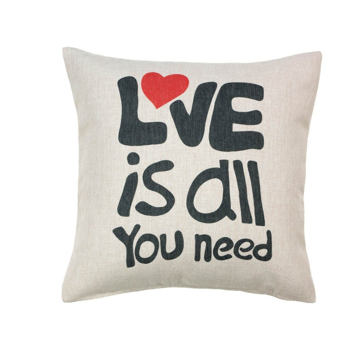 Love Is All You Need Pillow 567d87f3a3771c944d8beedf