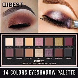 14-Color Eye Shadow Tray Matte Shimmer Natural Eye Shadow Palette