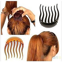 1pc Volume Inserts Hair Clip Bumpits Bouffant Ponytail Hair Comb