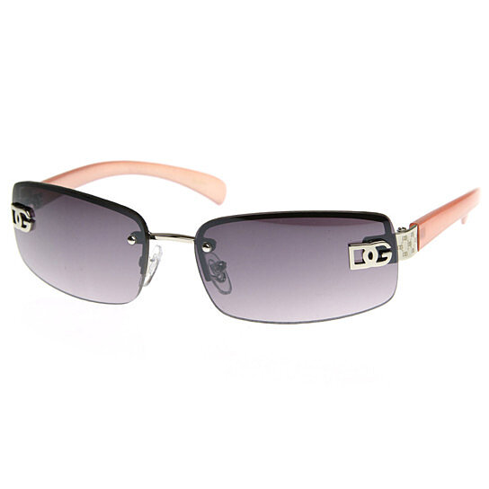 buy dg eyewear womens fashion color rimless lightweight dg