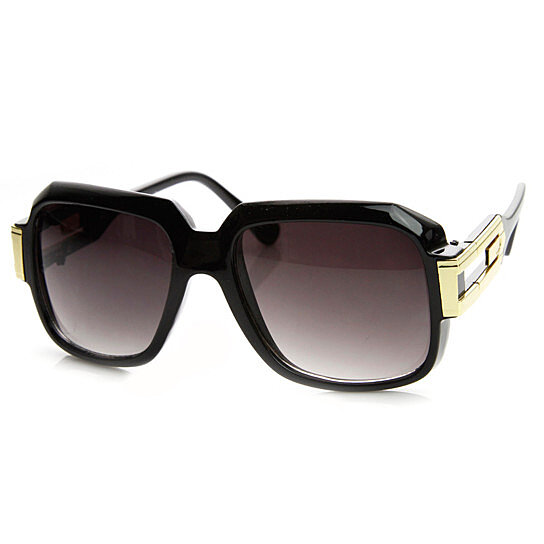 a9976bbab2a4 Trending product! This item has been added to cart 63 times in the last 24  hours. Large Classic Retro Square Frame RUN DMC Hip-Hop Sunglasses ...