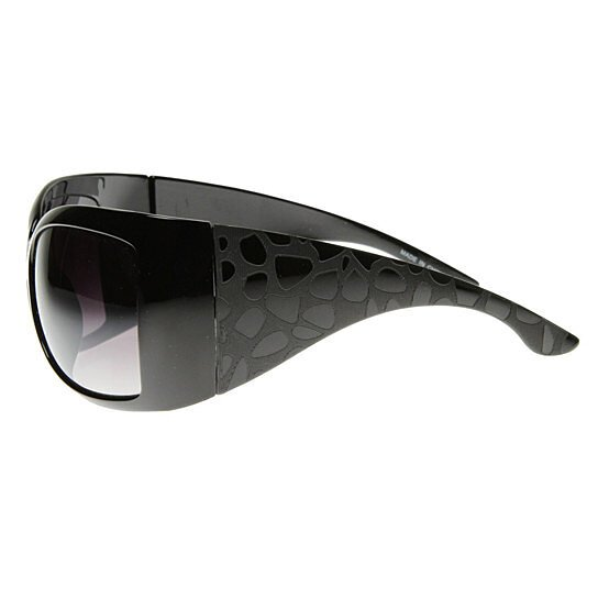 Buy Large Womens Oversized Wrap Around Sunglasses - 8305 ...