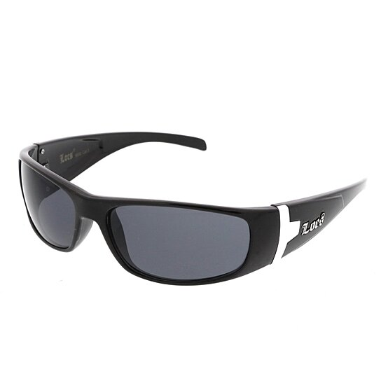 319b537b767 Buy Men s Hip Hop Oval Blacked Out Lens Rectangle Classic Authentic LOCS  Sunglasses 62mm by SunglassLA on OpenSky