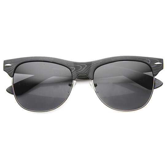 332ad2a4203 Classic C Decor Rimless Sunglasses Grey Lenses