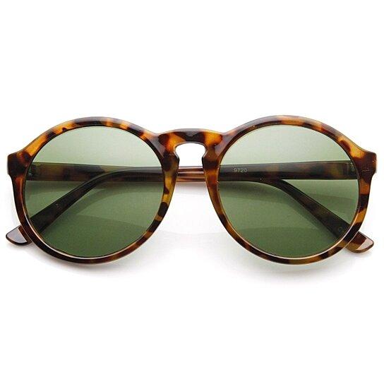 41033cc7ee Buy Oversized P3 Frame Keyhole Bridge Round Sunglasses by SunglassLA on  OpenSky