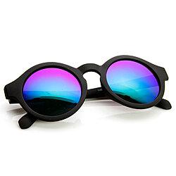 9bad7a0be82 Classic Old School Eazy E Square Flat Top OG Loc Sunglasses - 8685 · Retro  Fashion Circle Flash Mirror Lens Keyhole Round Sunglasses - 9312
