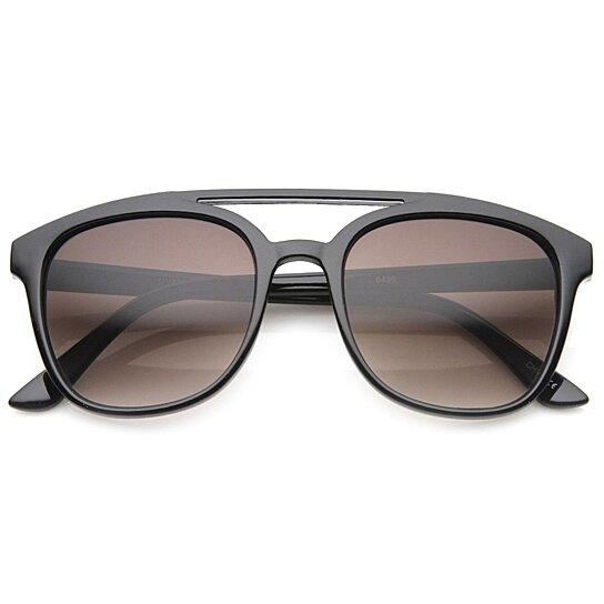 8b49da8576 Buy Squared Bold Frame Plastic Aviator Sunglasses by SunglassLA on OpenSky