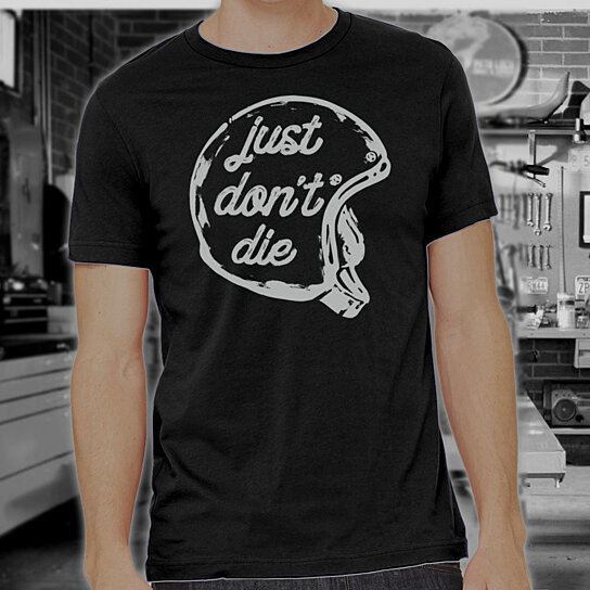 217f4deae Trending product! This item has been added to cart 80 times in the last 24  hours. Just Don't Die Shirt ...