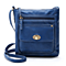 Turn Button Crossbody Purse
