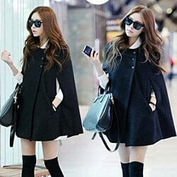 Women's Fashion Winter Sexy Solid Color Coats Jackets All-match Warm