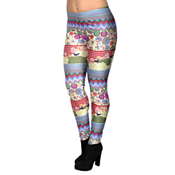 Women's Digital Art Leggings Medium Tall