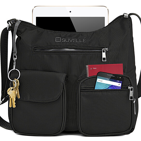 Buy Suvelle Carryall RFID Travel Crossbody Bag 3ee014adb127d
