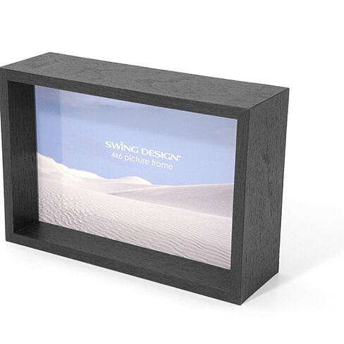 buy stratton frame black 4x6 by swing design on opensky