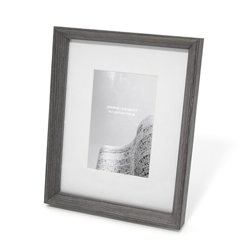 Buy sutton frame charcoal gray 7x9 with 4x6 mat by swing for 7x9 bathroom design