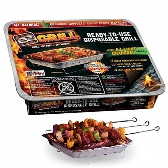 Buy ez grill quot as seen on tv portable disposable