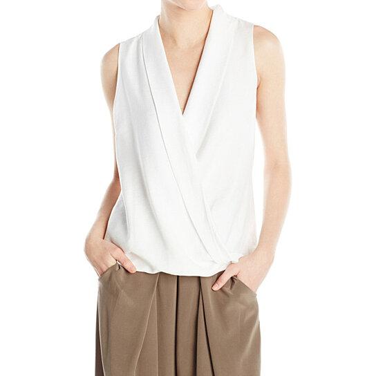 Women'S Sleeveless Wrap Blouse 90