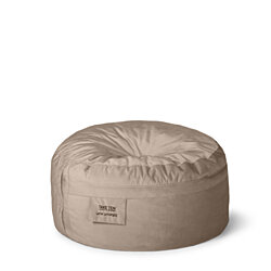 World's Best Bean Bag Chair - Take Ten Classic Lounger Stone Beige