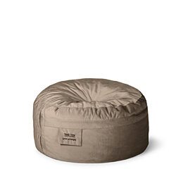 World's Best Bean Bag Chair - Take Ten Classic Lounger Putty Tan