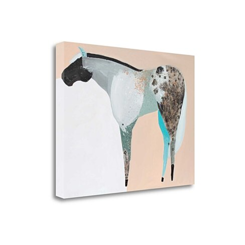 "Horse No. 65 By Anthony Grant, 24"" x 18"" Fine Art Giclee Print on Gallery Wrap Canvas, Ready to Hang"
