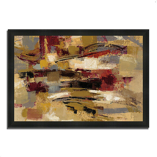 buy ruins by silvia vassileva 39 x 27 framed painting print silky black frame by tangletown. Black Bedroom Furniture Sets. Home Design Ideas