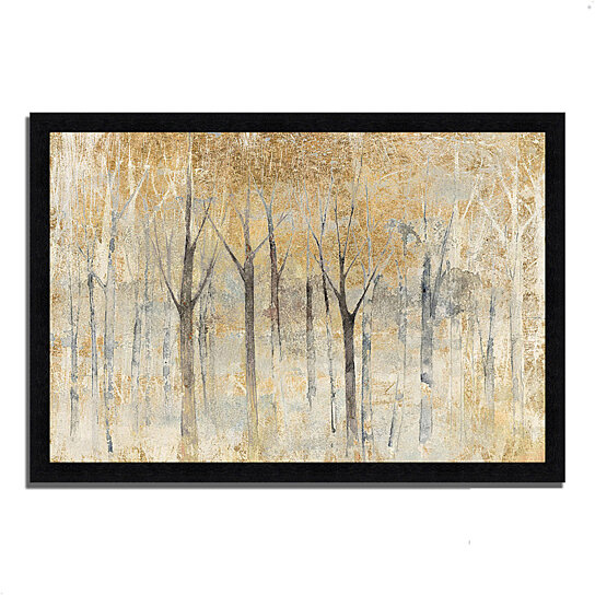 buy seasons end gold by avery tillmon 39 x 27 framed painting print black frame by. Black Bedroom Furniture Sets. Home Design Ideas