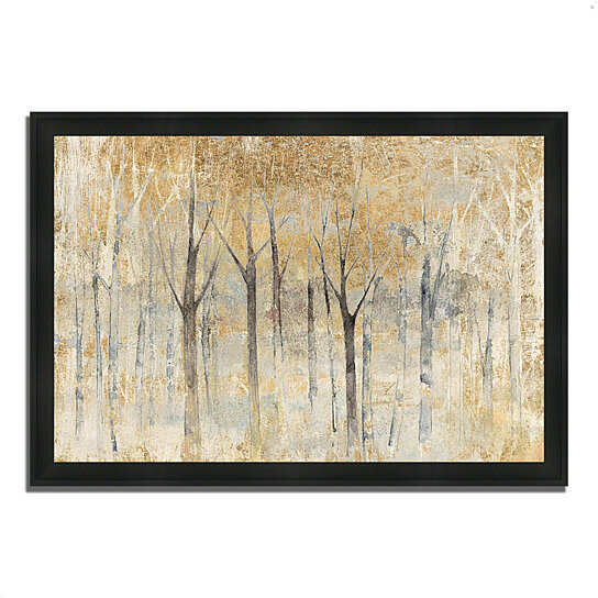 buy seasons end gold by avery tillmon 39 x 27 framed painting print silky black frame by. Black Bedroom Furniture Sets. Home Design Ideas