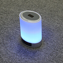 TechComm DY29 Hi-Fi Bluetooth Speaker LED Lamp with FM Radio & Multi-Color Mode