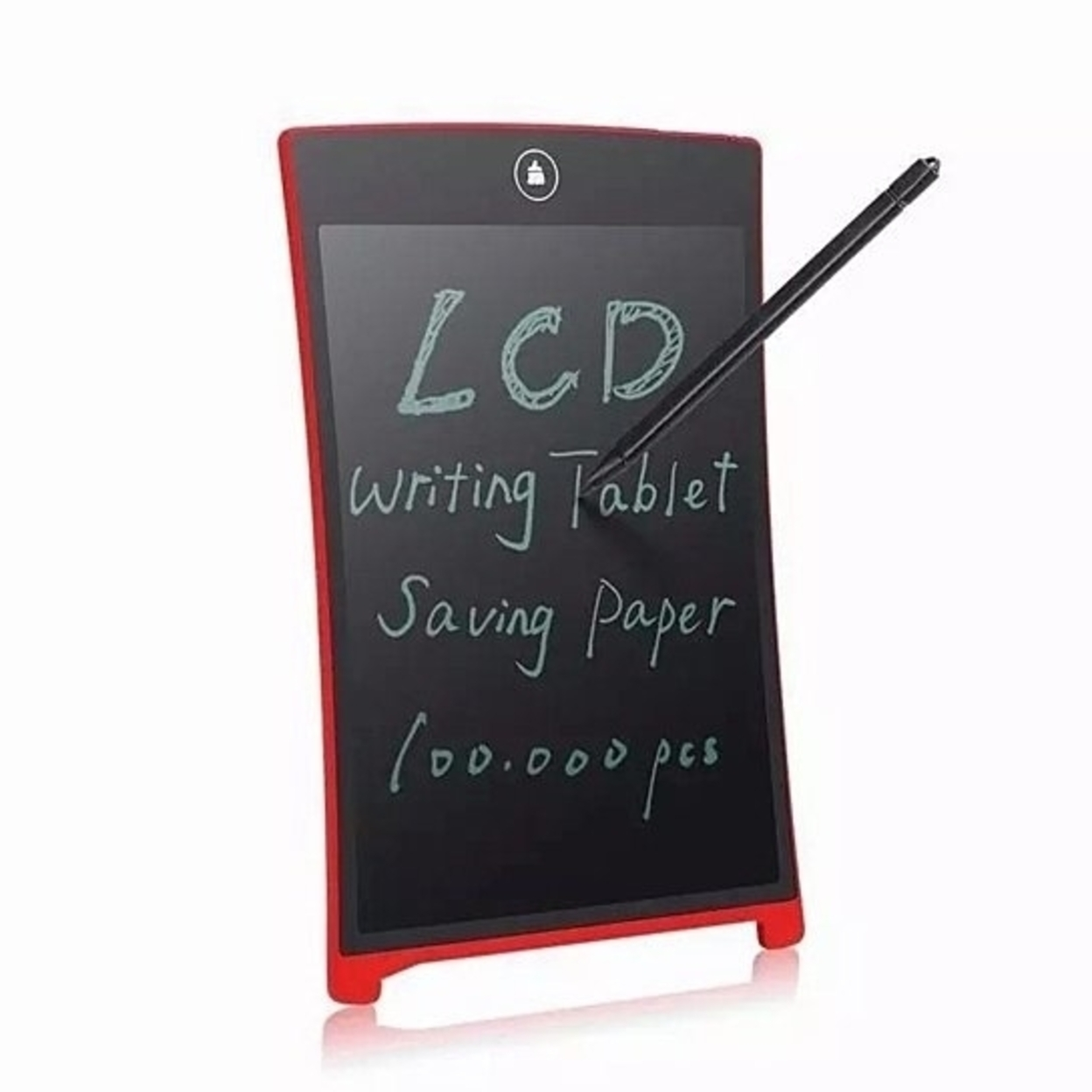 2 Pack Ultra Thin LCD Writing PAD 8.5 Inch Tablet - black, black 5a1cfd7a1a2f725e4501c779