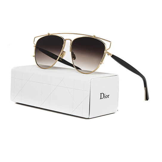 257205452a8a Dior Gold Aviator Sunglasses