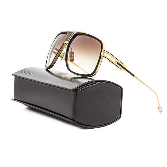 ffbe3f2967 Buy Dita Grandmaster Five 5 Sunglasses DRX 2077A Black 18K Gold ...
