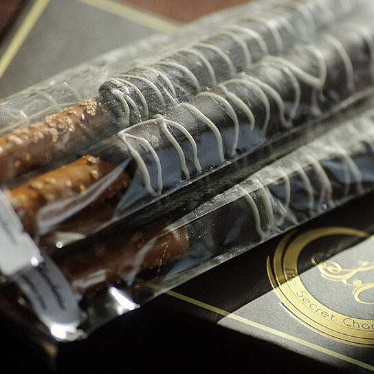 Chocolate Pretzel Logs Dunmore Candy Kitchen: Buy Chocolate Pretzel Sticks By The Secret Chocolatier On