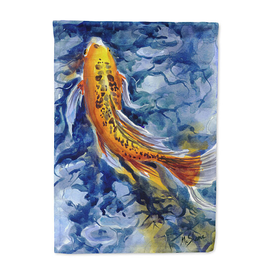 Buy fish koi flag garden size by the store on opensky for Koi fish size