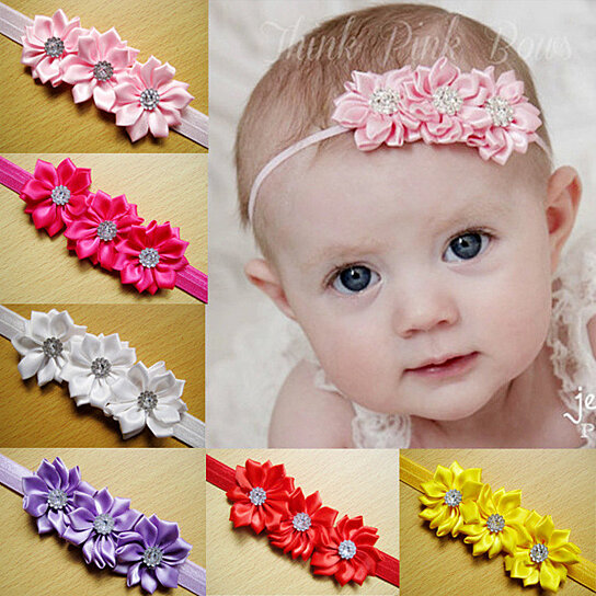 Generous Newborn Baby Girl Headbands Baby & Toddler Clothing Clothing, Shoes & Accessories