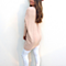 Women  V Neck Long Sleeve Casual Loose Solid Thin  Knitted Tops Sweater