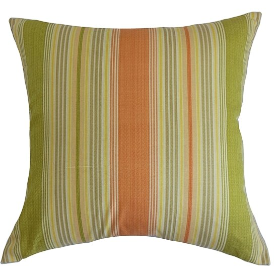 Buy Marquis Stripes Pillow Nectar by The Pillow Collection on OpenSky