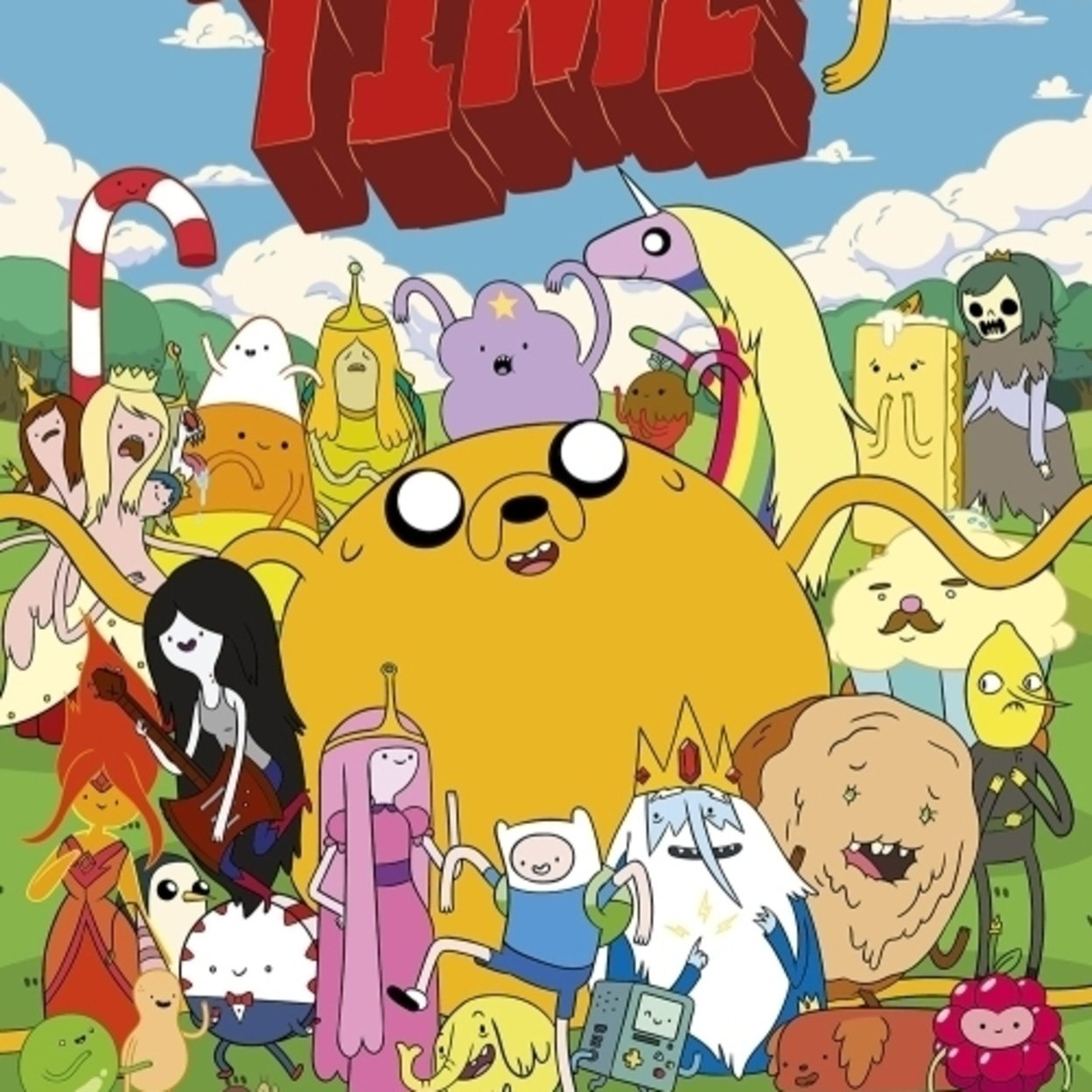 Adventure Time Characters Poster Print (24 x 36)  eBay