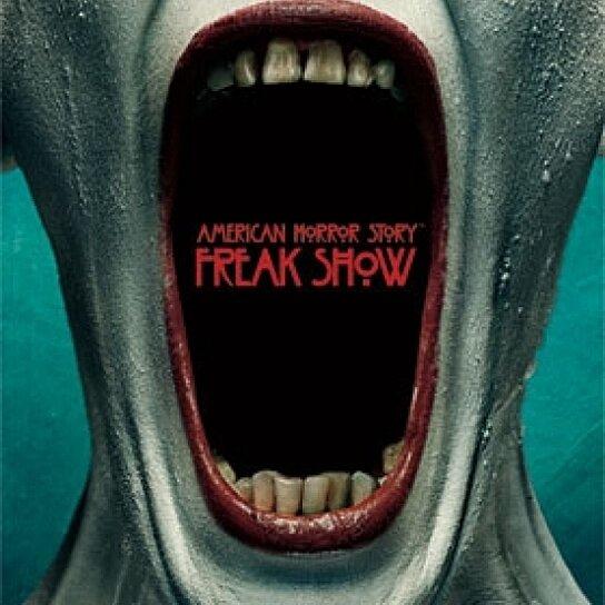Buy american horror story freak show poster print 24 x for American horror story wall mural