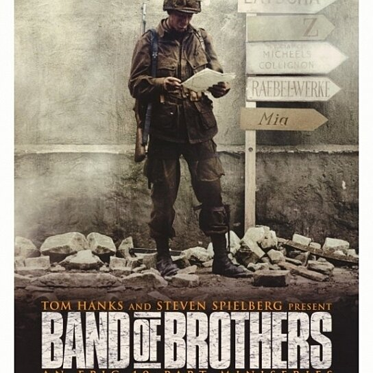 buy band of brothers movie poster 27 x 40 by the poster