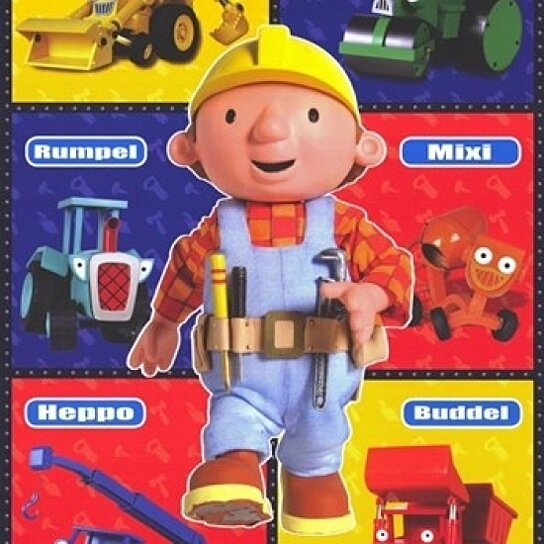 Buy bob the builder movie poster 11 x 17 by the poster for Bob the builder wall mural