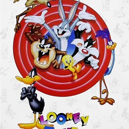 buy bugs bunny friends group shot poster by looney tunes 16 x 20 by the poster corp on. Black Bedroom Furniture Sets. Home Design Ideas