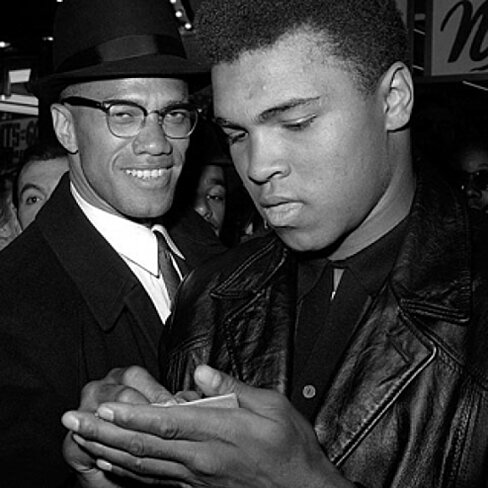 Buy Muhammad Ali And Malcolm X Nyc March 1 1964 Poster