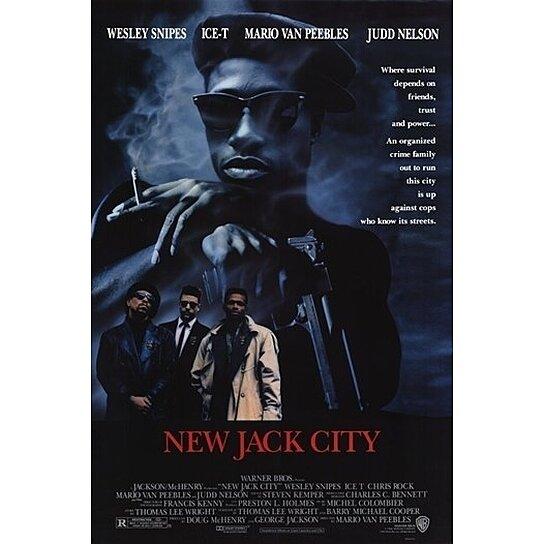 New jack city movie poster