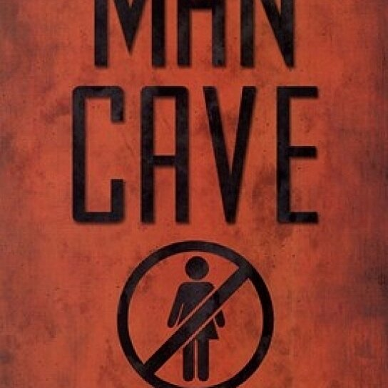 Man Cave Posters For Sale : Buy warning man cave poster print by lauren rader