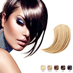 Hollywood Hair Sweeping Side Fringe